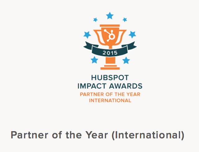 HubSpot Impact Awards - Partner of the Year - Hook Digital